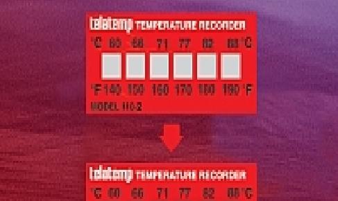 אינדיקטורים לטמפרטורה