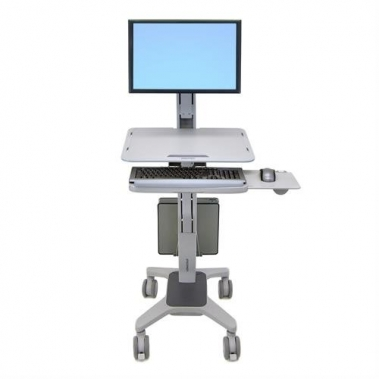 WorkFit-C, Single LD Sit-Stand Wokstation