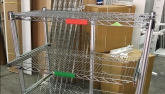 עגלת מדפים נשלפים של מטרו עבור אלתא