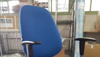 כסא אנטי סטטי כחול עבור אלתא