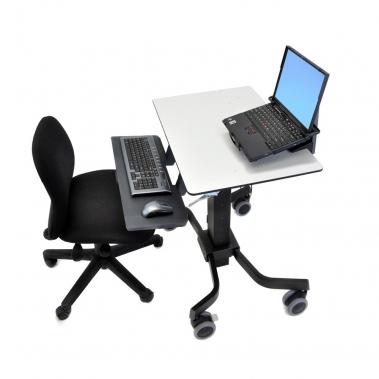 שולחן עבודה נייד מתכוונן