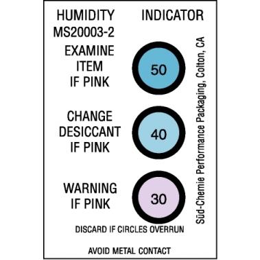 אינדיקטור לחות לסימון 30-50% לחות יחסית