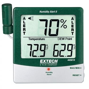 מד לחות וטמפרטורה עם מדידת נקודת טל כולל התראה