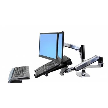 זרוע משולבת למסך מחשב ומחשב נייד