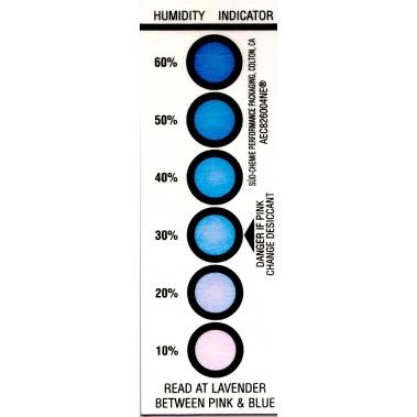 אינדיקטור לחות לסימון 10-60% לחות יחסית