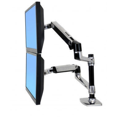 זרוע לשני מסכים LX Dual Stacking arm
