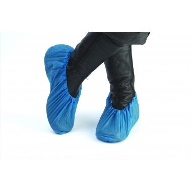 כיסוי נעל חד פעמי פוליאטילן לחדר נקי
