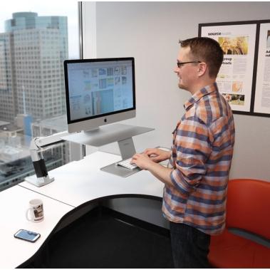 זרוע למסך Apple דגם Workfit-A