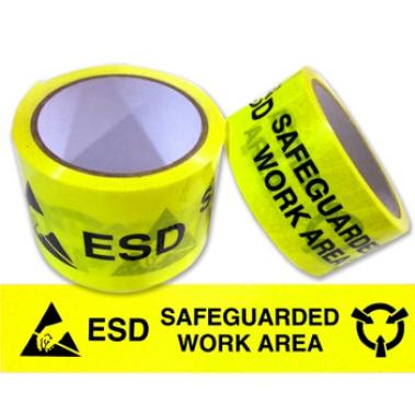 נייר דבק צהוב עם כיתוב וסימון אזהרה