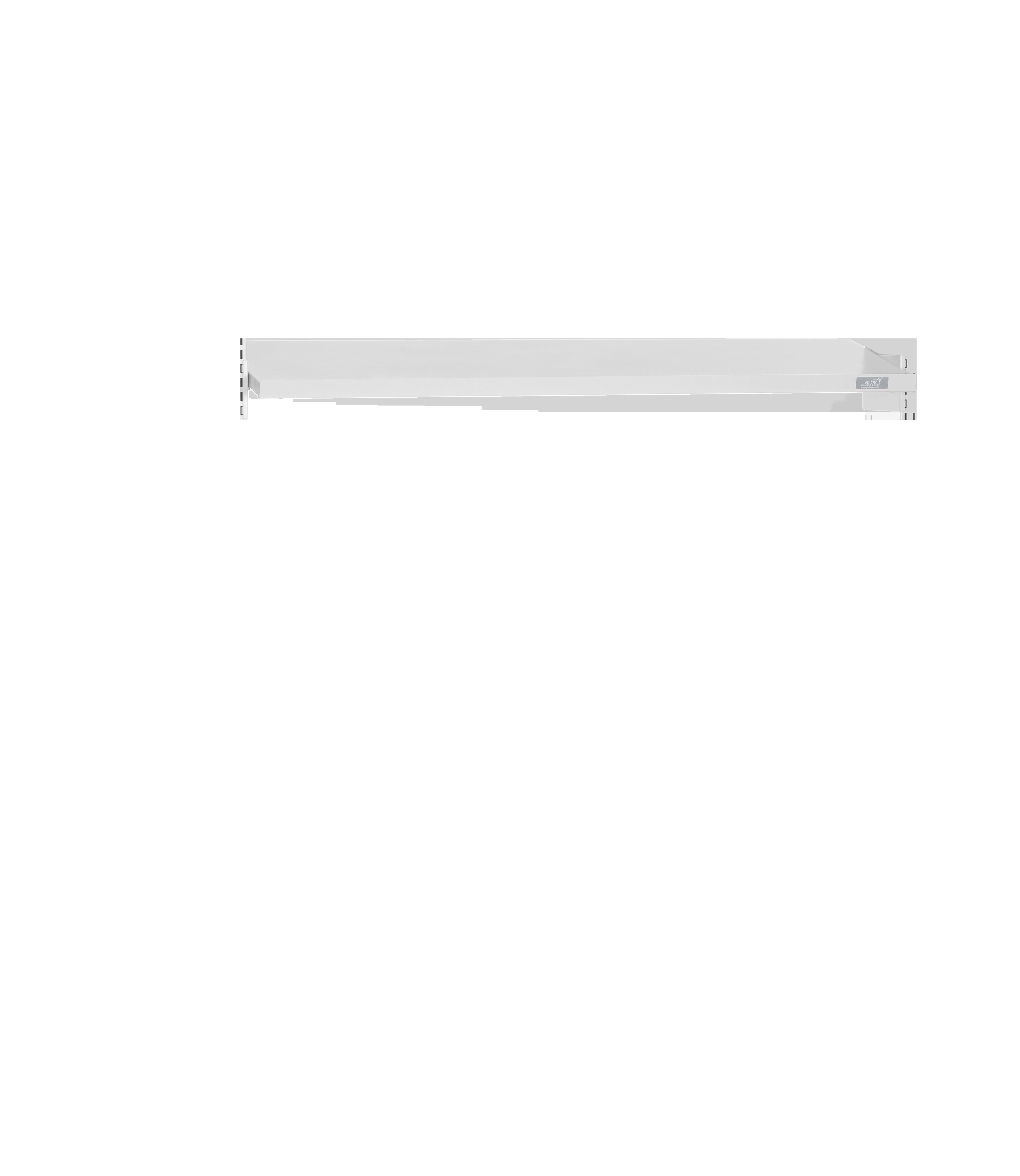 מדף תחתון עם שיפוע