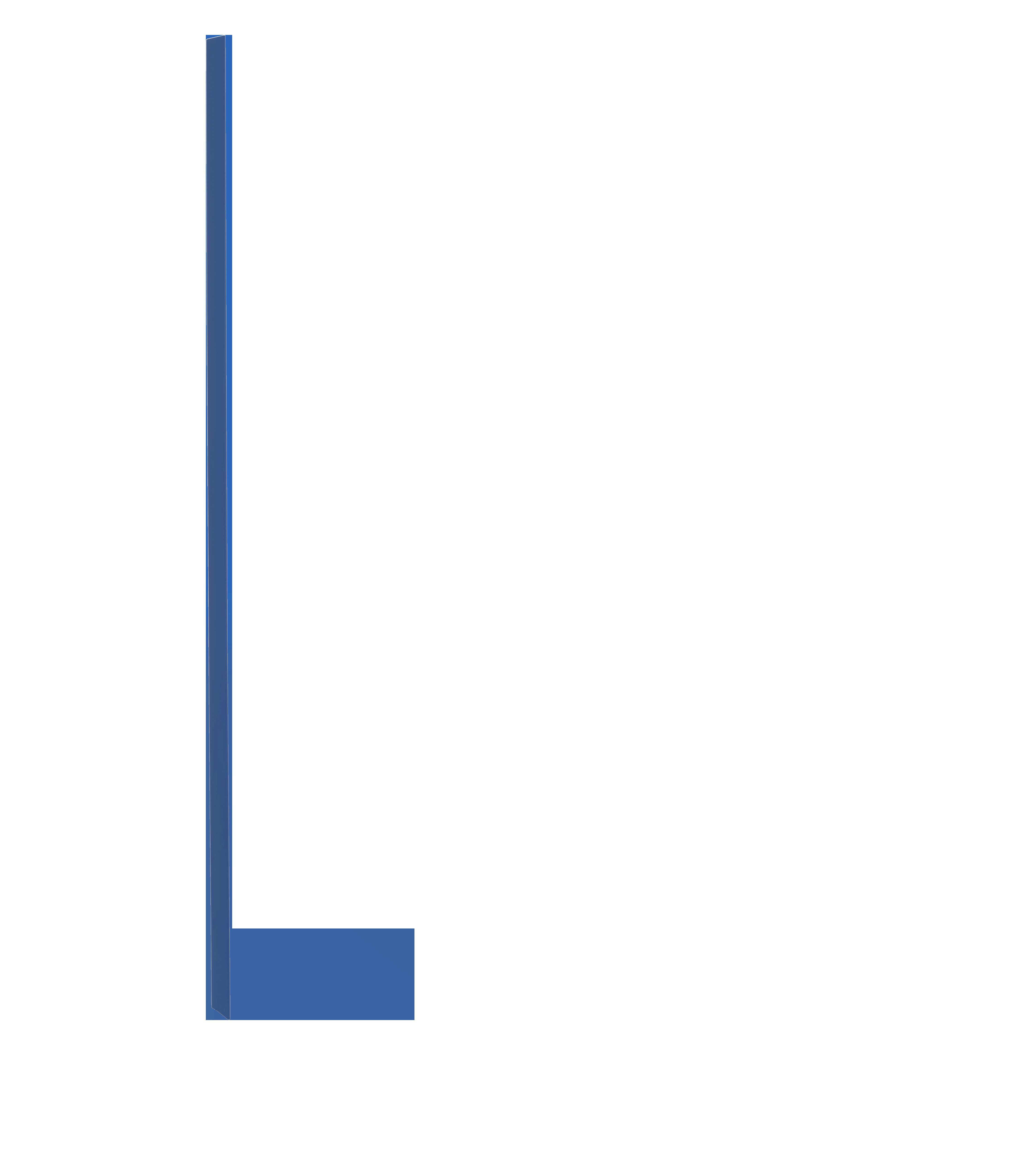 פאנל כחול